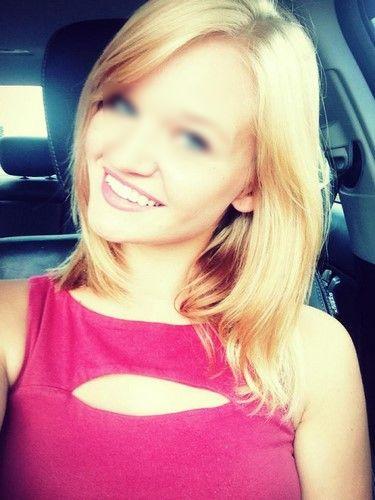 Célib blonde sur Lyon pour une baise