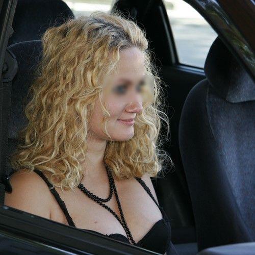 Belle blonde sur Lyon pour baise en extérieur
